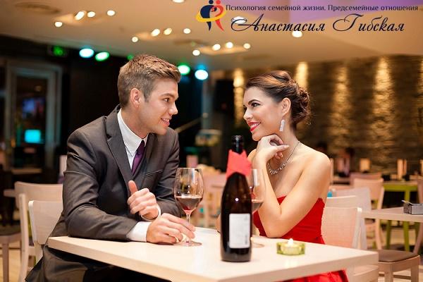 Как вести себя на первом свидании с мужчиной