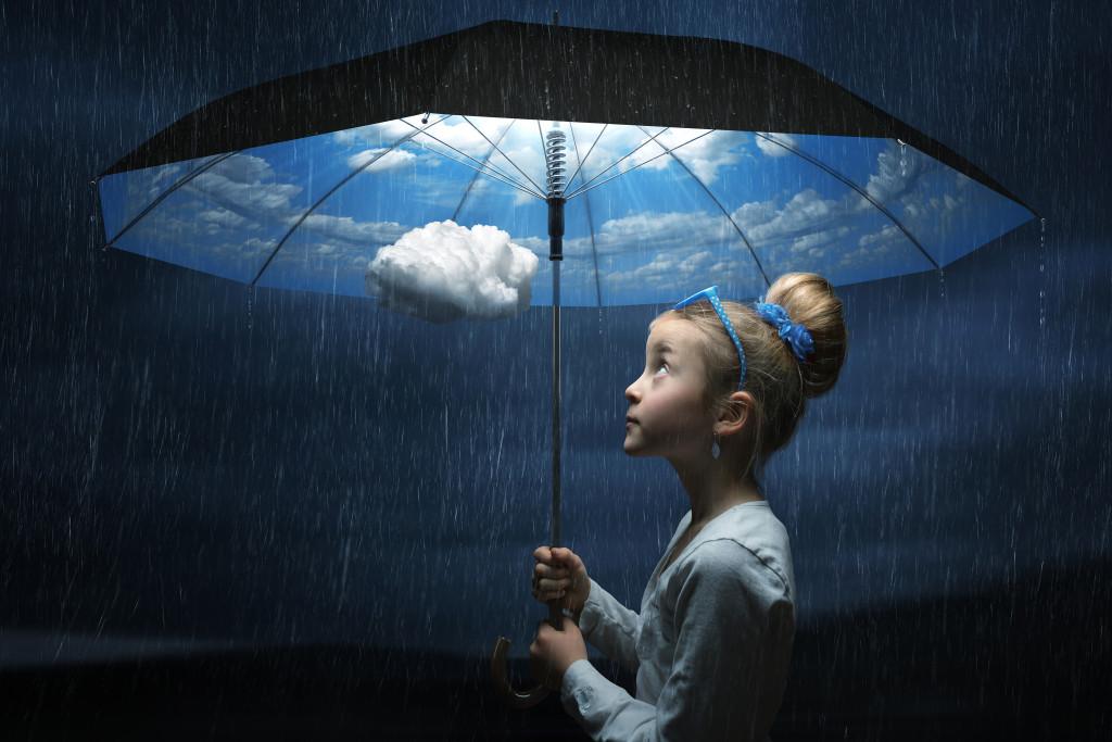 The good weather umbrella